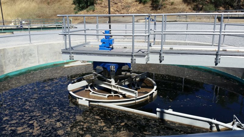 Completed Clarifier